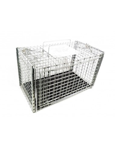 306NC2SQ - Squeeze Cage for Feral Cats with Two Sl